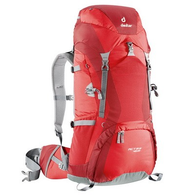 Рюкзак Deuter ACT LITE 40+10 fire/cranberry