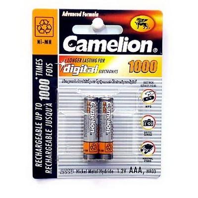 Аккумулятор aaa r03 camelion ni mh 1000 mah