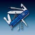 Нож Victorinox CYBER TOOL 29 полупрозрачный синий