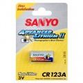 Батарейка R123 Sanyo
