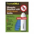 Набор ThermaCell (4 газовых картриджа + 12 пластин) с запахом земли