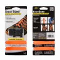 Шнурки NiteIze KNOT BONE STRETCH LACELOCK SYSTEM 2шт оранжевые