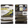Шнурки NiteIze KNOT BONE STRETCH LACELOCK 2шт зеленые
