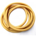 Тяж PrimeLine d14мм латексный (цена за 1см) желтый